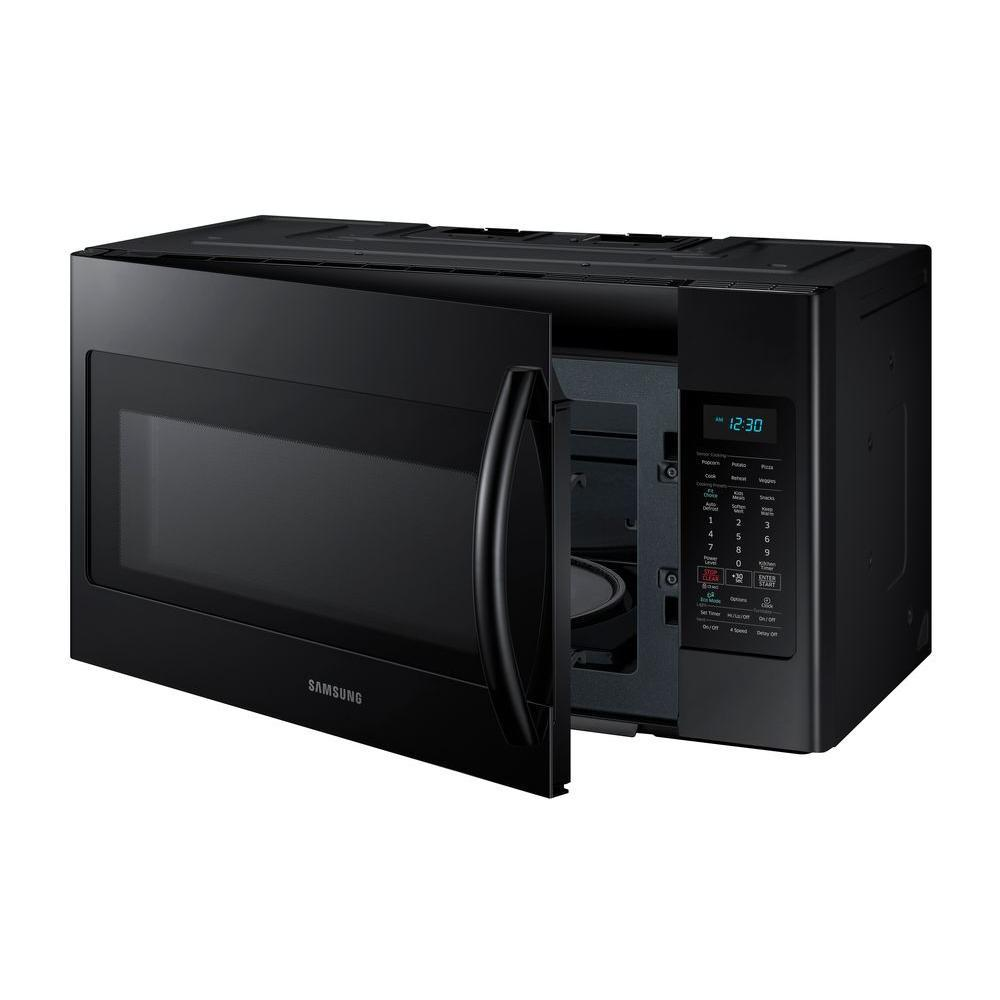 samsung over the range microwave model me18h704sfs manual