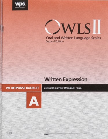 oral and written language scales manual pdf