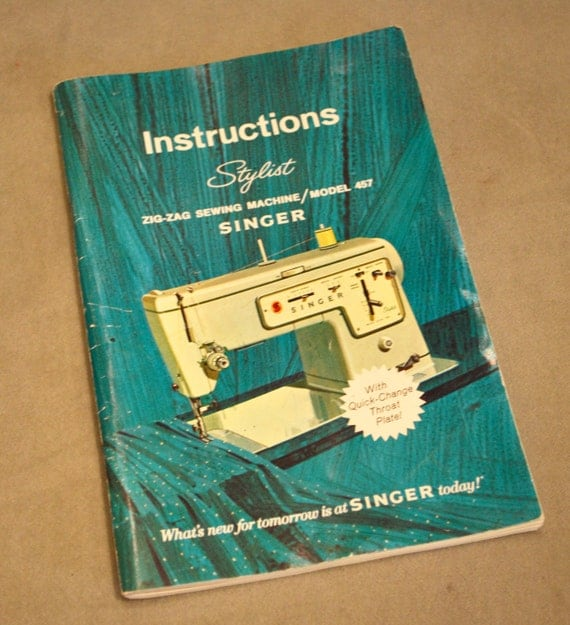 manual for singer sewing machine zig zag model 413