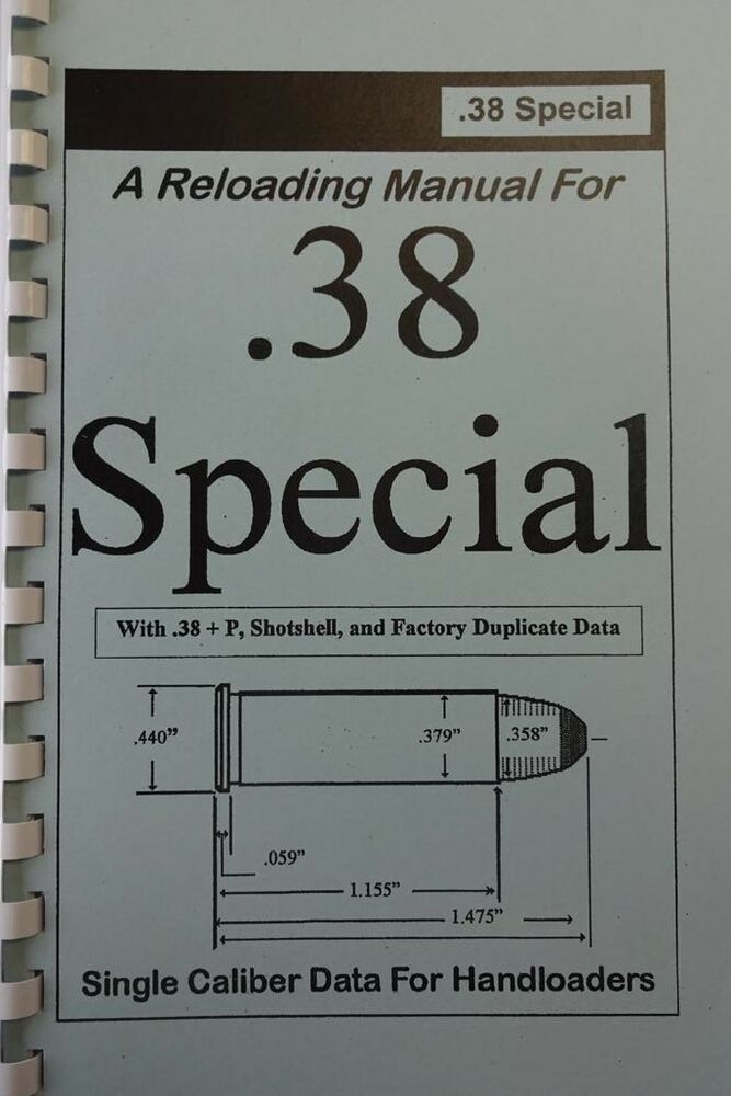complete reloading manual 38 special download