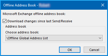manually download oab outlook 2013