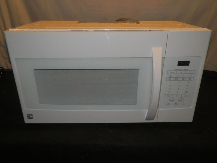 kenmore quick touch microwave model 665 manual