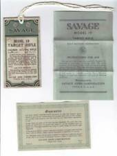 owners manual for savage model 170